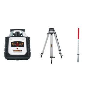 LASERLINER Cubus 110 S Rotation laser inkl. stativ og stadie