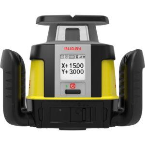 Leica rotationslaser Rugby CLA 500 - Manuel 2-falds laser Horisontal/Vertikal (840)