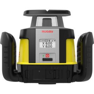 Leica rotationslaser Rugby CLH 200 - Manuel 1-falds laser (820)