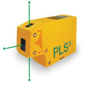 PLS Priklaser PLS 3 m/3 prikker, grøn