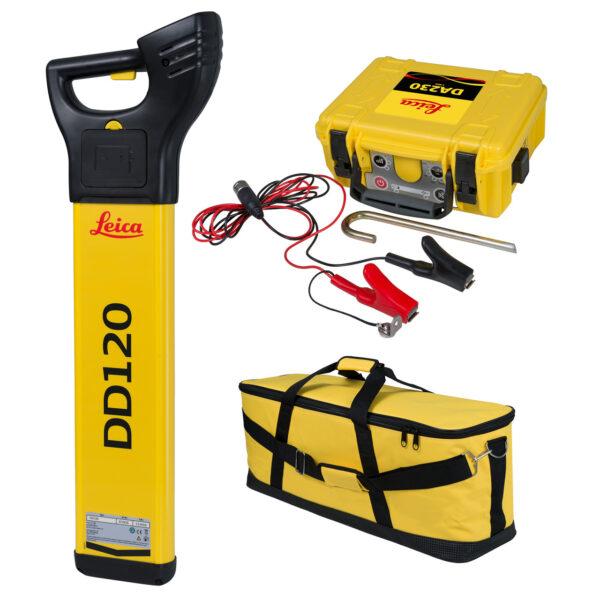 LEICA kabelsøger sæt DD120 og DA230 i taske