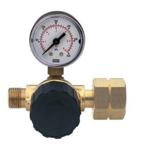 SIEVERT Højtryksregulator 1-4 bar m. manometer