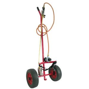 SIEVERT Prof. ukrudtbrænder m/punktérfri hjul